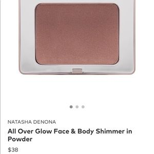 Natasha Denona all over glow